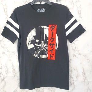 STAR WARS Darth Vader T-Shirt Short Sleeve Black S